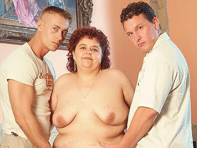 Cumshot showered bbw gaborne Horny BBW Gaborne gets showered with ejaculate after getting team fuck by two handsome guys. Click here for more photos!.