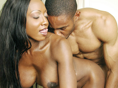 Black snatch screwed. Busty lady Diamond Jackson gets her huge boobies groped while getting her black snatch screwed. Want more Click here now!