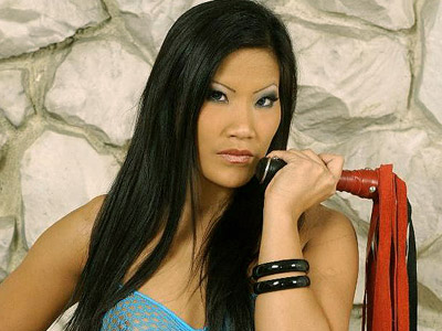 BDSM Library : Christina Aguchi leg Worship!