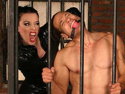 BDSM Library : Anastasia Extreme Bondage Punishment!
