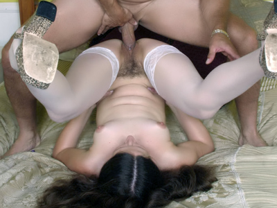 Nasty haired cunt. Stocking clad lady Lena Ramone got her wet hairy pussy combed and have sexual intercourse in this steamy porn story. Click here for more pictures.