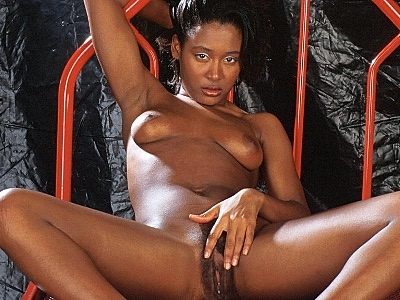 Hairy ebony pussy cuddling. Lovely ebony model spreads her lustful black thighs to show off her hairy twat and rub her clits. Check it out for more preview pictures!