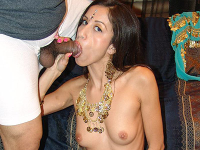 Big cock stuffed indian aruna. Petite Indian model Aruna promotes goodwill by cramming a big dick in her muff. Click here for the gallery.