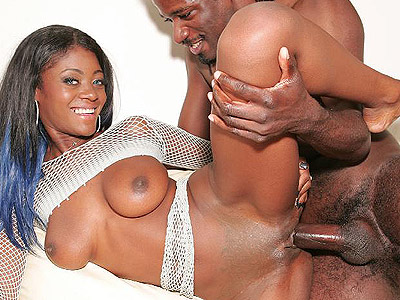 Penish riding ebony lady armani. Ebony Lady Armani poses in her horny net top before she gets on top to ride a huge dick. Click here to view this gallery.