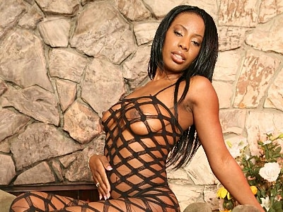 Ebony guzzled large cock. Cock starved ebony pornstar gets an overdose and struggles to cram a huge penish into her gob. Click here for the gallery.