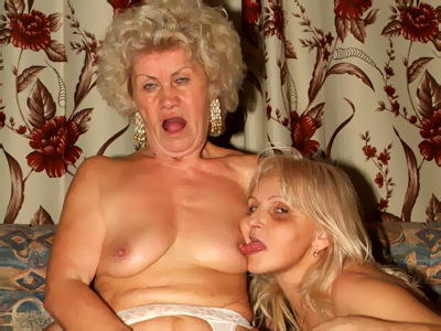 Hot old blondes banged. Eager older women Francesca and Erlene resort to taking turns in make love a young virile cock. Click here for more pictures.
