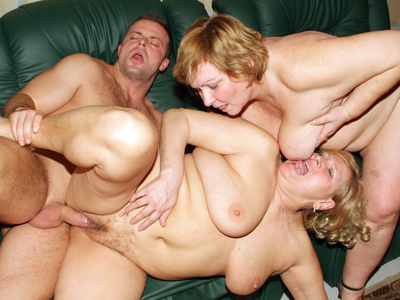 Tool sharing matures. Dick starved mature women Anna and Yolanda show off their greed for cocks in a threesome. Want more Click here now!