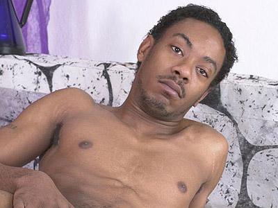 black gay thug stories. Tough looking black homo-sexual strips off his ...