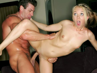 Hardcore dick drills. Blonde pornstar Jeanie Marie rams her holes with a humongous tool in this hardcore porn set. Click here for more pictures.