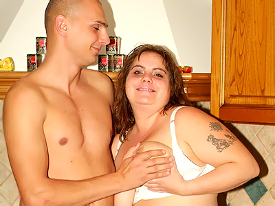 Banging a bbw housewife!